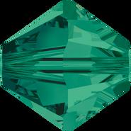 Swarovski Bead 5328 - 8mm, Emerald (205), 12pcs