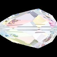 Swarovski Bead 5500 - 9x6mm, Crystal Aurore Boreale (001 AB), 4pcs
