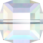 Swarovski Bead 5601 - 8mm, Crystal Aurore Boreale (001 AB), 4pcs