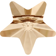 Swarovski Bead 5714 - 8mm, Crystal Golden Shadow (001 GSHA), 12pcs