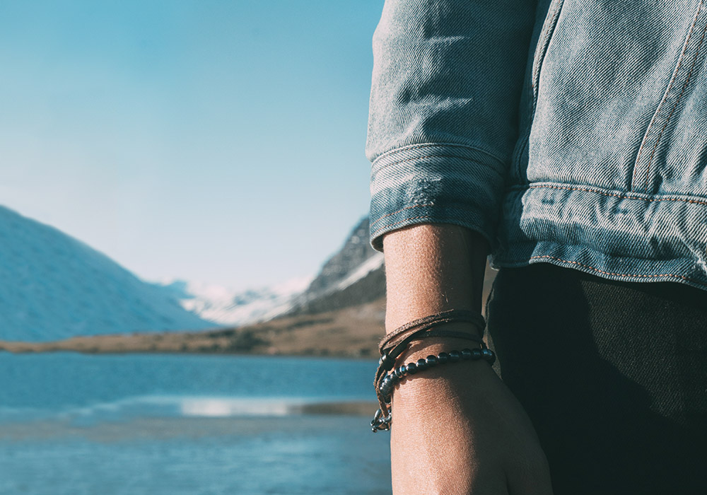Leather Bracelets For Men and Women