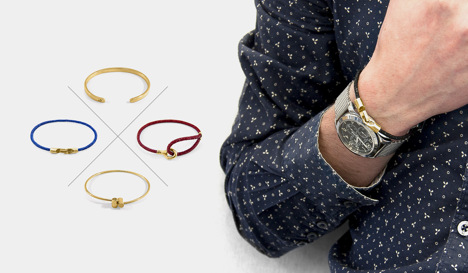 The Ultimate of Refined Accessories, LUXE Bracelet Collection