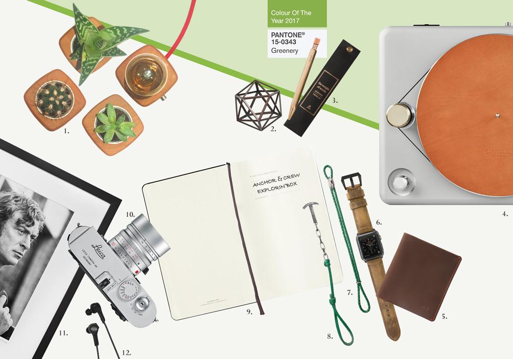 Green Greenery Inspired Jewellery