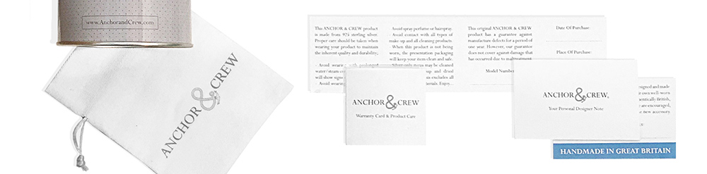 Learn More About The ANCHOR & CREW Guarantee And Care Advice