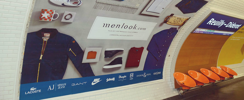 As Seen On The Paris Metro and The Menlook Tribune Le Guide Ultime
