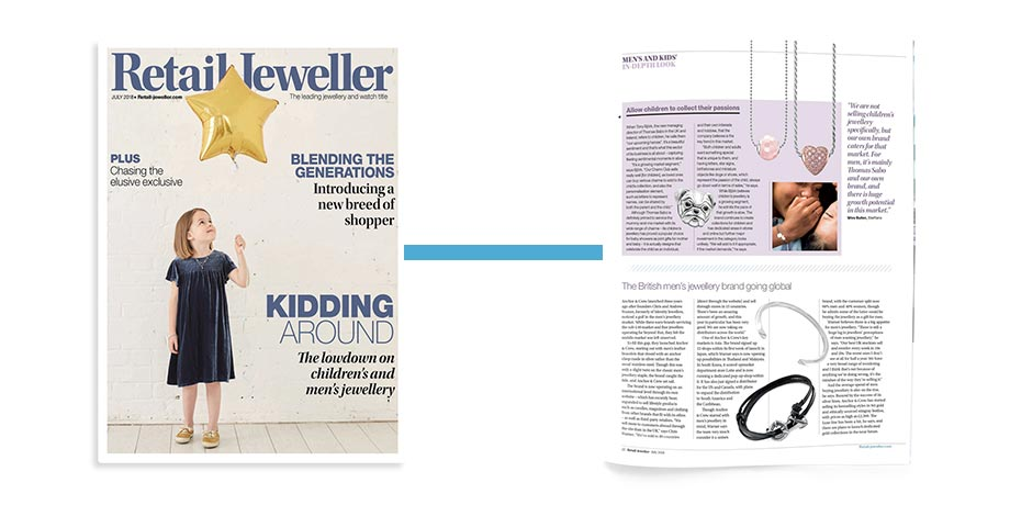 Boys To Men - Retail Jeweller - July 2018