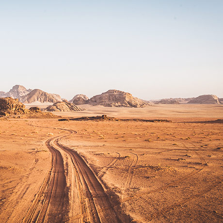 Exploring The Sands Of Jordan