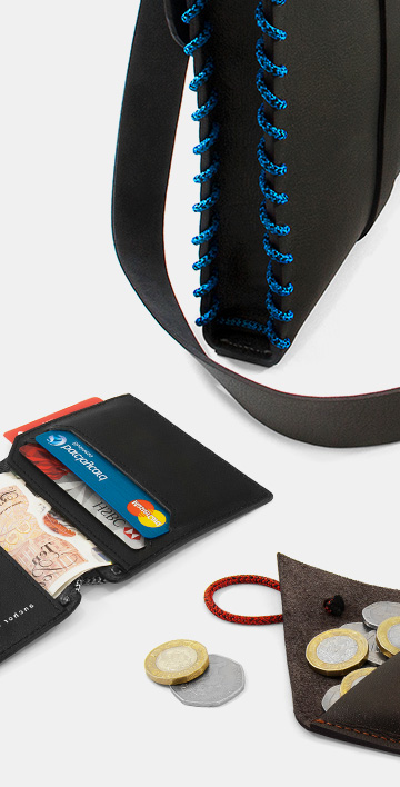 Be Unique: Leather Wallets, Bags, Tech Accessory and Utility Collection