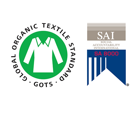 Textiles Accreditations Along Our Supply Chain