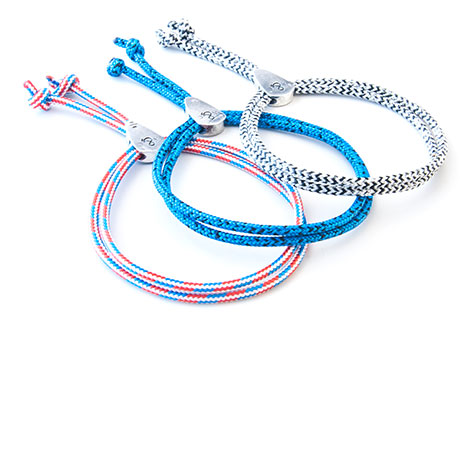 The Pulley Rope Bracelet Collection