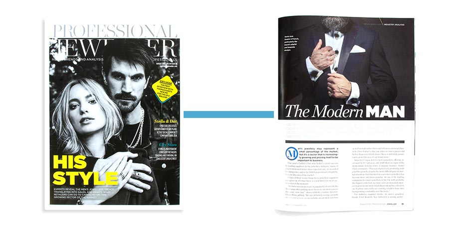 The Modern Man - Professional Jeweller - August 2018