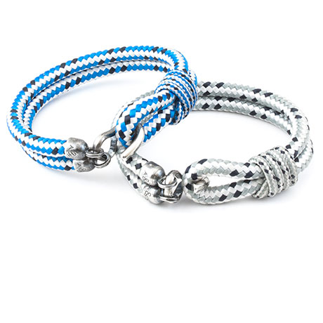 The Nautical Voyage Rope Bracelet Collection