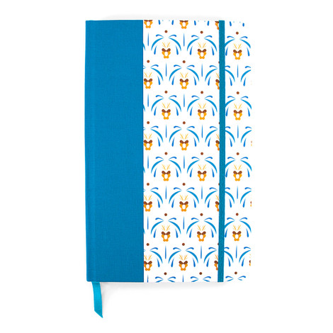 Anchor & Crew Blue Palermo Medium Hardcover Notebook