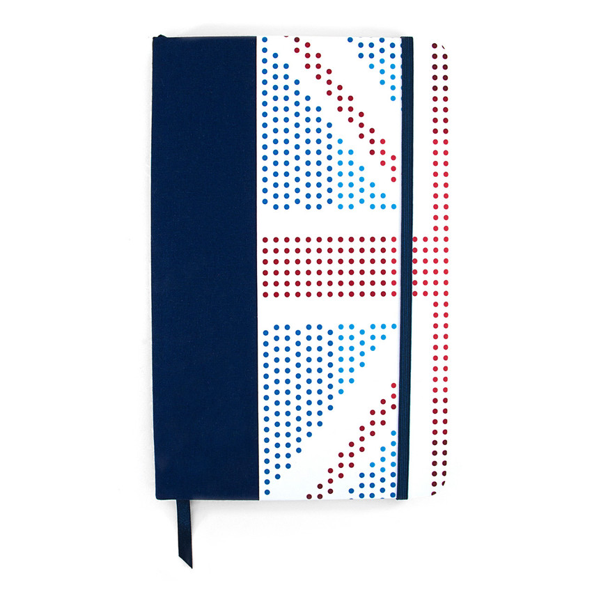 Anchor & Crew Red White and Blue London Medium Hardcover Notebook