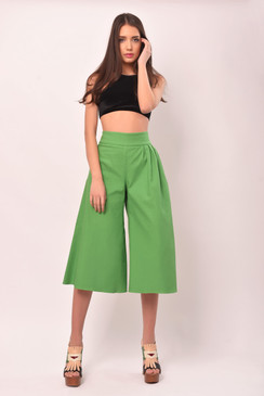 The Mad Hatter Cropped Trousers