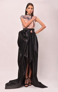 The Queen of Hearts Full Taffeta Skirt