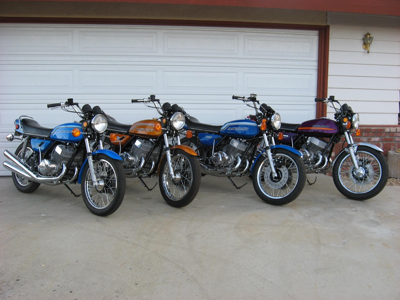 1972, 1973, 1974,1975 H2 750 Triples