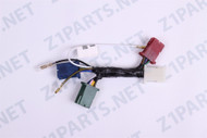 kawasaki kz parts main wiring harness  z1 900 kz900 kz1000 center wiring harness battery