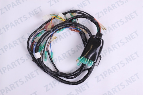 kawasaki kz1000 parts main wiring harness 26001 145 kz1000 main wiring harness 77 78 image 1