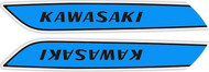 H1 500 1975 Triple Complete Decal Set - Sky Blue