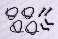 Z1 900 KZ900 / 1000 Ignition Coil Wires With Spark Plug Caps