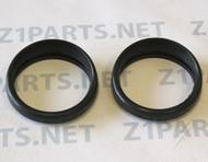 H1 500 Speedo & Tach Gauge Meter Covers Rubber 25012-003