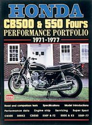 Honda CB500 & CB550 Fours / Performance Portfolio