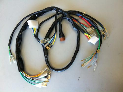 cb750 wiring harness 32100 300 050 k0 k1 sandcast rh z1parts net cb750 chopper wiring harness cb750 chopper wiring harness