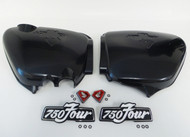 Honda CB750 1975-1977  Side Cover and Emblems Set