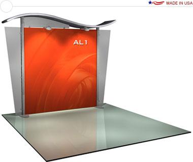 Alumalite Classic 10′ Trade Show Booth - AL1