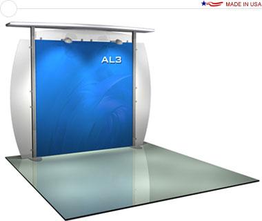 Alumalite Classic 10′ Trade Show Booth - AL3