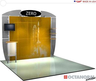 Alumalite Zero™ • AZ2 10′ Trade Show Booth