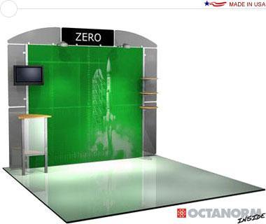 Alumalite Zero™ • AZ4 10′ Trade Show Booth