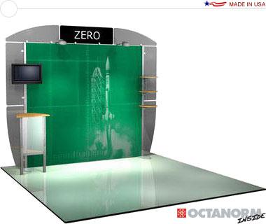 Alumalite Zero™ • AZ5 10′ Trade Show Booth