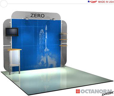 Alumalite Zero™ • AZ7 10′ Trade Show Booth
