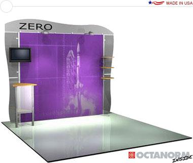 Alumalite Zero™ • AZ8 10′ Trade Show Booth