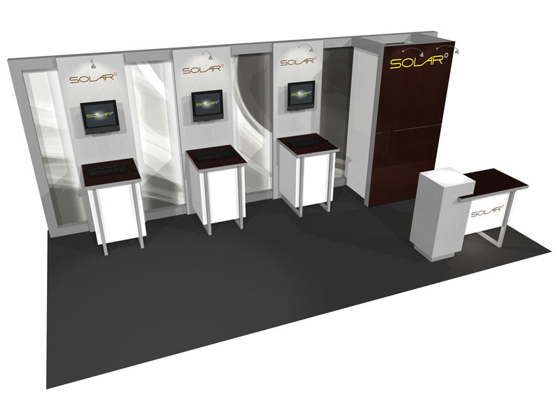Trade Show Booth Hs Code : Solar e  inline trade show booth epic displays