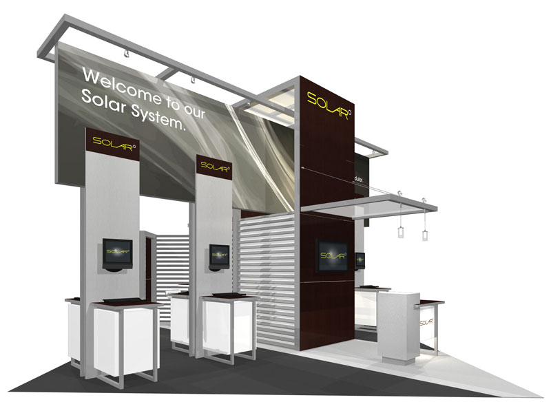 Trade Show Booth Hs Code : Solar e  trade show island exhibit epic displays