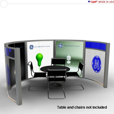 Segue™ DM-0634 Trade Show Conference Room