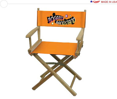 Directors Chair, Table Height w/ Full-Color Imprint
