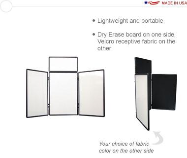 Show 'N' Write™ 4′ Tabletop Display