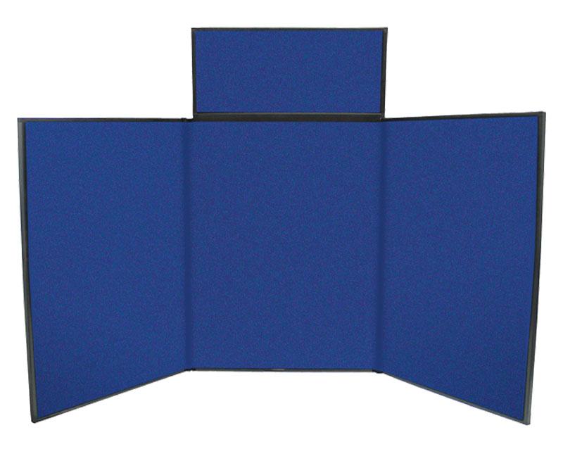 4 Fast Trak Blue Fabric
