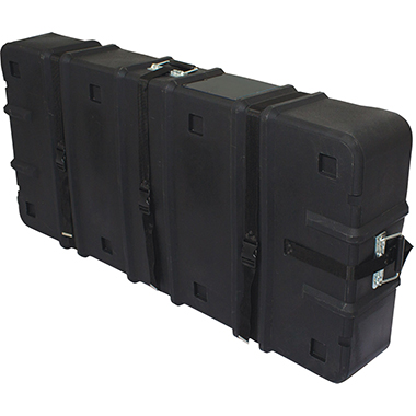 Hard Case w/ Wheels – 24″h × 8″d × 51″w