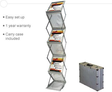 Exhibitor Series™ 220 • Literature Rack