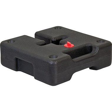 Square Plastic Water Weight for Tent Legs