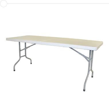 6′ Portable Folding Table