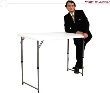 4u2032 Portable Folding Demo Table