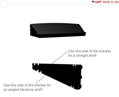 External Curve Shelf Kit