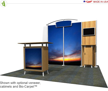 Anno · 10′ × 10′ Inline Trade Show Booth