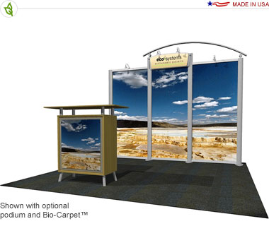 Arco · 10′ × 10′ Inline Trade Show Booth